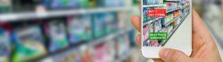 Mobile Phone im Handel